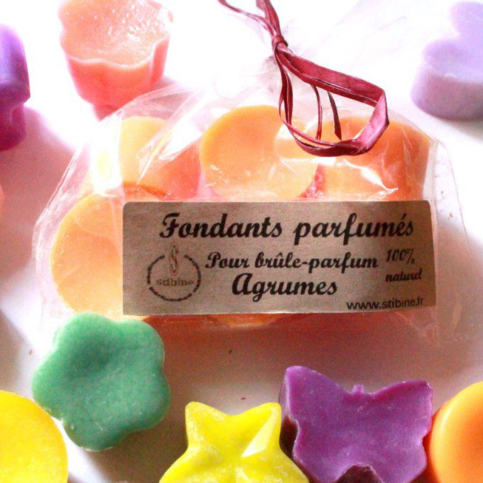 Fondants bougie agrumes