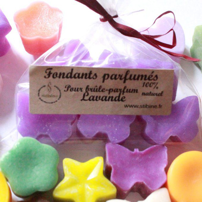 fondants bougie Lavande