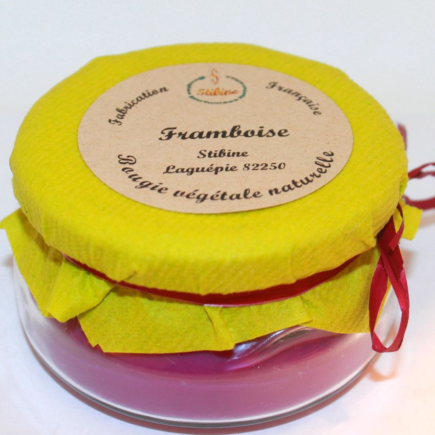 Framboise: 2 mèches